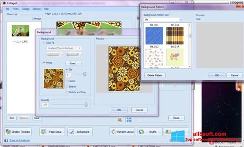 Screenshot CollageIt für Windows 8