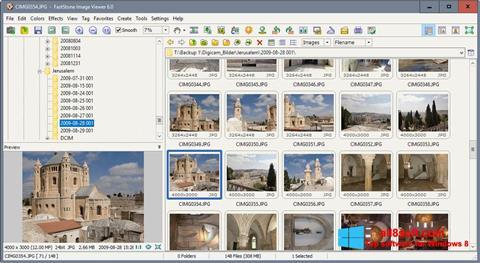 Screenshot FastStone Image Viewer für Windows 8