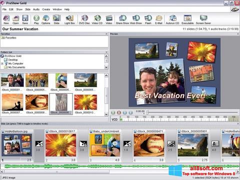 Screenshot ProShow Gold für Windows 8