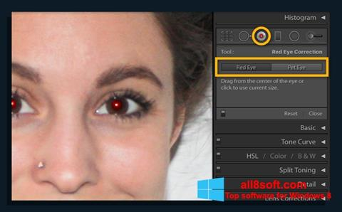 Screenshot Red Eye Remover für Windows 8