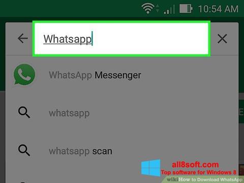 Screenshot WhatsApp für Windows 8