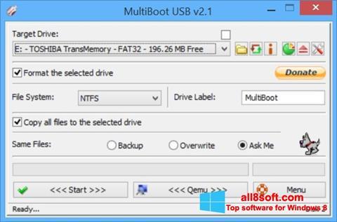 Screenshot Multi Boot USB für Windows 8