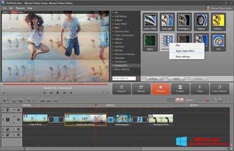 Screenshot Movavi Video Suite für Windows 8