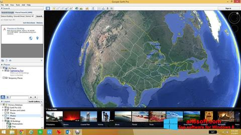 Screenshot Google Earth für Windows 8