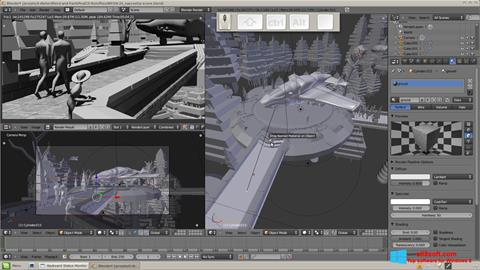 Screenshot Blender für Windows 8