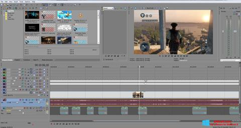 Screenshot Sony Vegas Pro für Windows 8