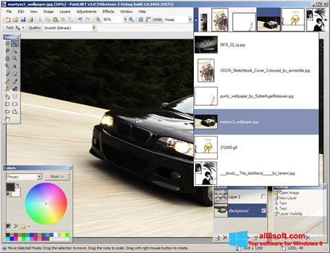 Screenshot Paint.NET für Windows 8