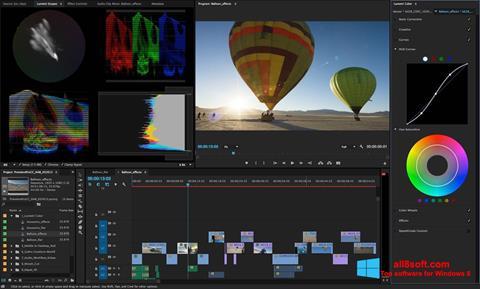 Screenshot Adobe Premiere Pro für Windows 8