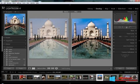 Screenshot Adobe Photoshop Lightroom für Windows 8