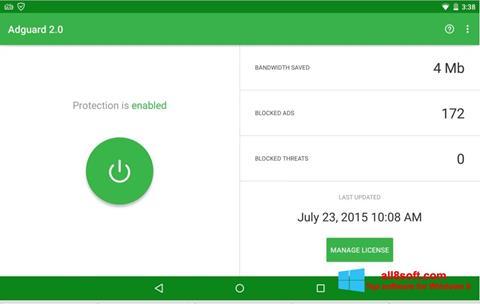 Screenshot Adguard für Windows 8