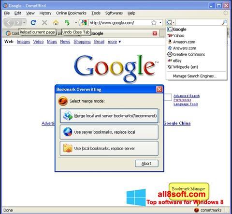 Screenshot CometBird für Windows 8