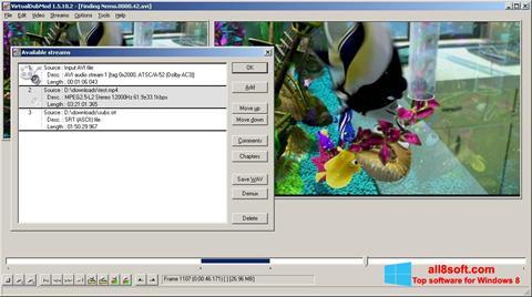 Screenshot VirtualDubMod für Windows 8
