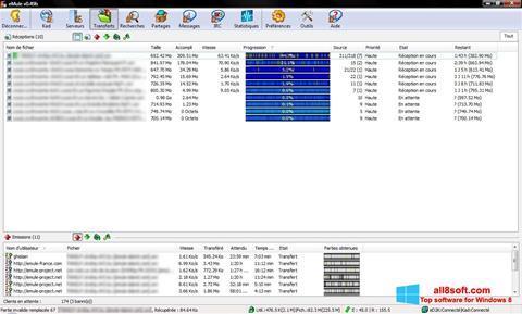 Screenshot eMule für Windows 8