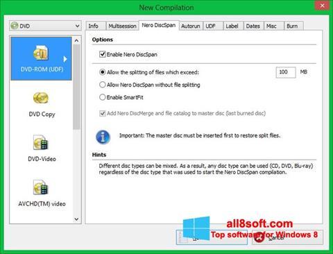Screenshot Nero Image Drive für Windows 8