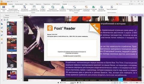 Screenshot Foxit Reader für Windows 8