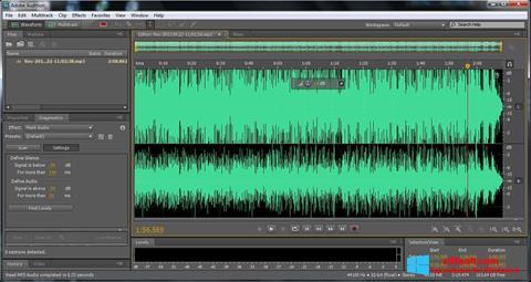 Screenshot Adobe Audition für Windows 8