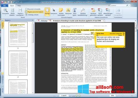 Screenshot Nitro PDF Reader für Windows 8