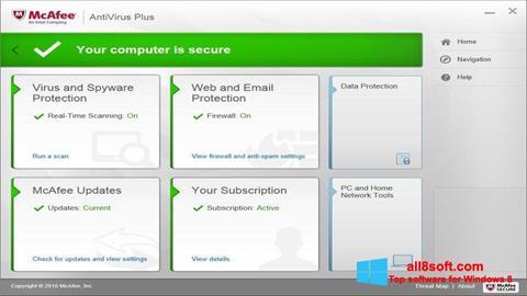 Download McAfee AntiVirus Plus für Windows 8 (32/64 bit