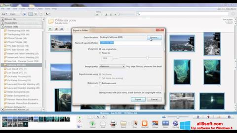 Screenshot Picasa für Windows 8