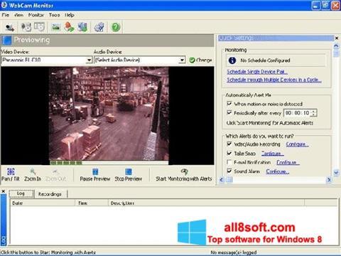 Screenshot WebCam Monitor für Windows 8