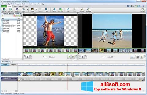 Screenshot VideoPad Video Editor für Windows 8