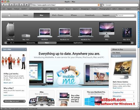 Screenshot Safari für Windows 8