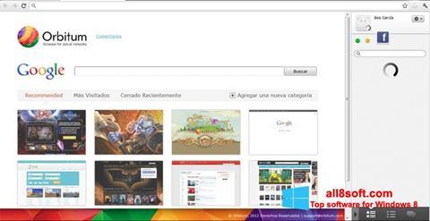 Screenshot Orbitum für Windows 8