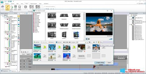 Screenshot VSDC Free Video Editor für Windows 8