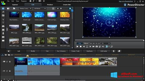 Screenshot CyberLink PowerDirector für Windows 8