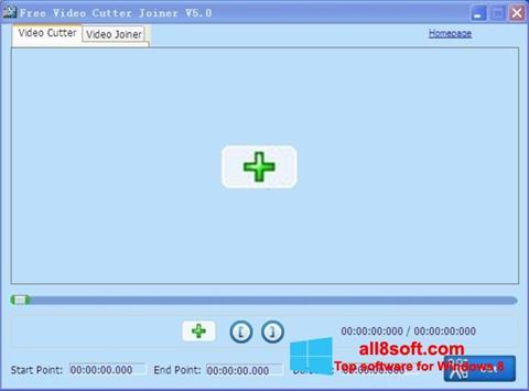 Screenshot Free Video Cutter für Windows 8