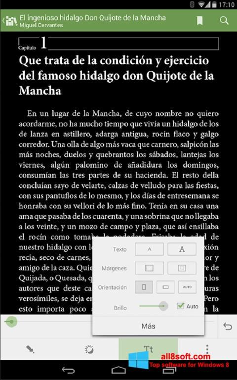 Screenshot BookReader für Windows 8