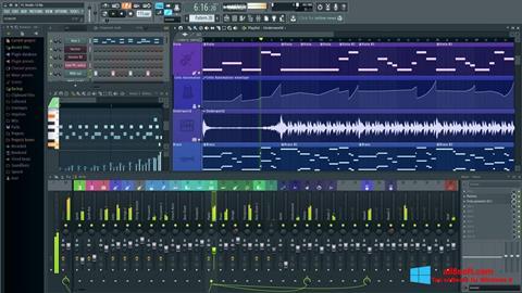 Screenshot FL Studio für Windows 8
