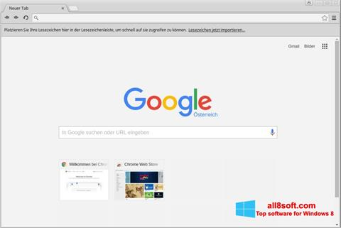 Screenshot Google Chrome für Windows 8