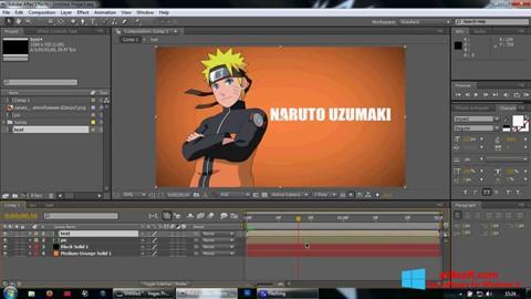 Screenshot Adobe After Effects für Windows 8