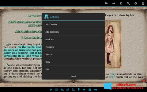 Screenshot AlReader für Windows 8