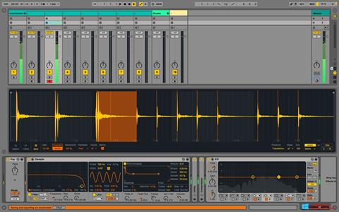 Screenshot Ableton Live für Windows 8